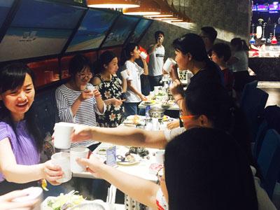 胜友学员自助餐活动